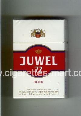 Juwel (design 2A) 72 ( hard box cigarettes )