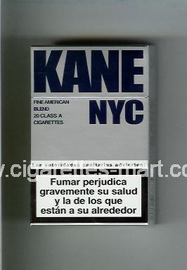 Kane NYC (Fine American Blend) ( hard box cigarettes )