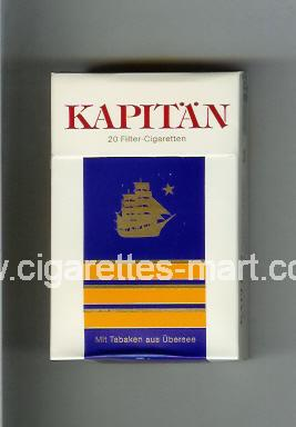 Kapitan (german version) ( hard box cigarettes )