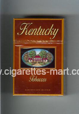 Kentucky (german version) (Tobaccos / American Blend) ( hard box cigarettes )