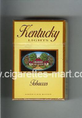 Kentucky (german version) (Tobaccos / American Blend / Lights) ( hard box cigarettes )
