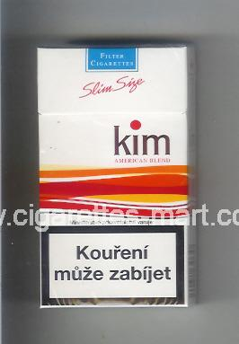 Kim (german version) (design 1A) (American Blend) ( hard box cigarettes )