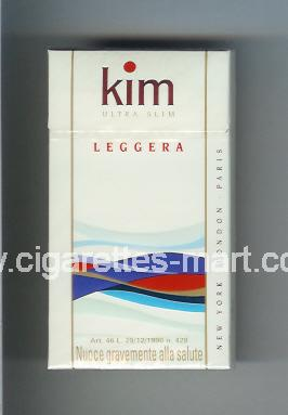 Kim (german version) (design 2) (Ultra Slim / Leggera) ( hard box cigarettes )