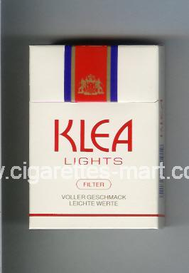 Klea (Lights) ( hard box cigarettes )