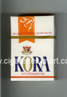 Kora (design 1) ( hard box cigarettes )
