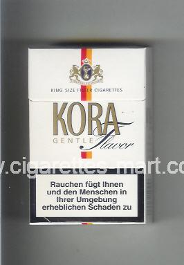 Kora (design 2) (Gentle / Flavor) ( hard box cigarettes )