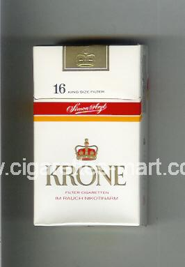 Krone (design 2) ( hard box cigarettes )