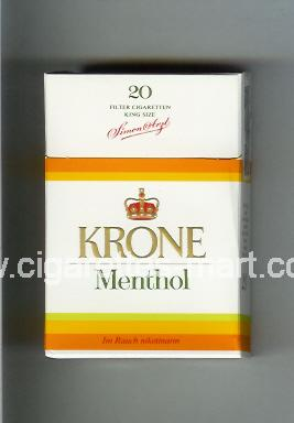 Krone (design 2) (Menthol) ( hard box cigarettes )
