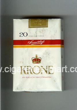 Krone (design 2) ( soft box cigarettes )