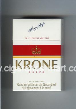 Krone (design 3) (Extra) ( hard box cigarettes )