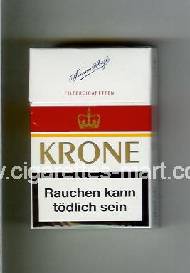 Krone (design 3) ( hard box cigarettes )