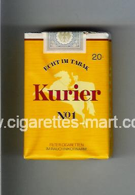 Kurier No 1 (Echt Im Tabak) ( soft box cigarettes )