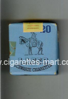 Lasso (design 1) (Schwarze Cigaretten) ( soft box cigarettes )