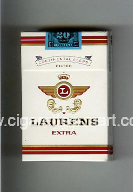 Laurens (german version) (design 1) (Extra / Continental Blend) ( hard box cigarettes )
