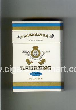 Laurens (german version) (design 1A) (Filtra / Le Khedive) ( hard box cigarettes )