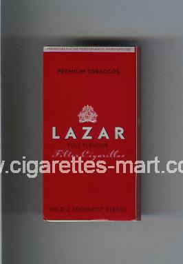 Lazar (Full Flavour / Mild & Aromatic Blend) ( hard box cigarettes )