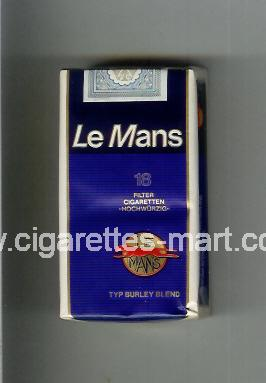 Le Mans (german version) (design 1) ( soft box cigarettes )