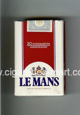 Le Mans (german version) (design 2) (American Blend) ( soft box cigarettes )