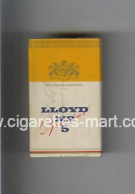 Lloyd (design 1) No 5 (Special) ( hard box cigarettes )