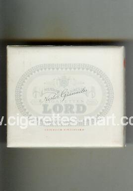 Lord (design 1) Nestor Gianaclis ( box cigarettes )