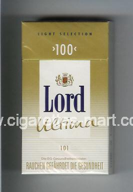 Lord (design 4) (Ultima 101 / Light Selection) ( hard box cigarettes )