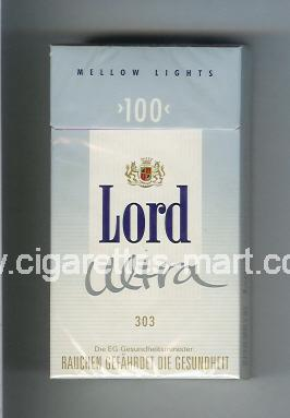 Lord (design 4) (Ultra 303 / Mellow Lights) ( hard box cigarettes )