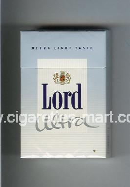 Lord (design 4) (Ultra / Ultra Light Taste) ( hard box cigarettes )