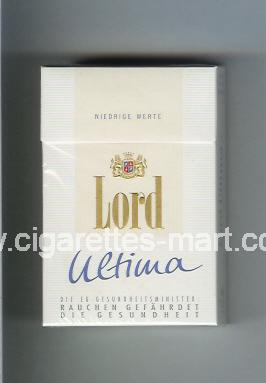 Lord (design 4A) (Ultima / Niedrige Werte) ( hard box cigarettes )