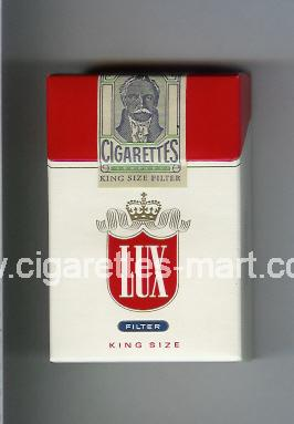 Lux (german version) (design 4) (Filter) ( hard box cigarettes )
