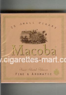 Macoba (design 1) (Small Cigars / Classic / Fine & Aromatic) ( box cigarettes )