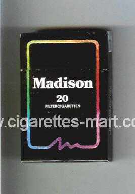 Madison (german version) (design 1) ( hard box cigarettes )