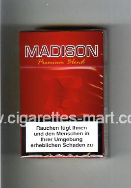 Madison (german version) (design 2) (Premium Blend) ( hard box cigarettes )