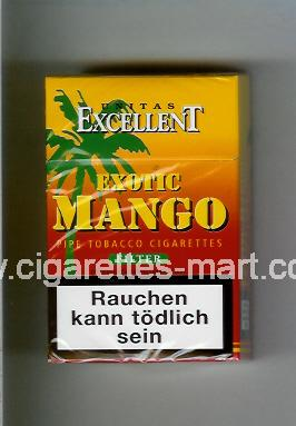 Mango (german version) Exotic (Excellent Unitas / Filter) ( hard box cigarettes )