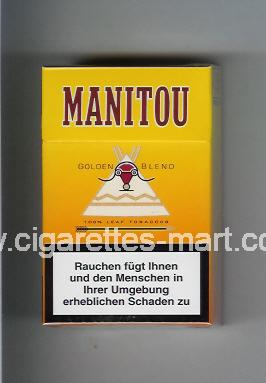 Manitou (design 1) (Golden Blend) ( hard box cigarettes )