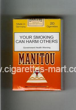 Manitou (design 1) (Golden Blend) ( soft box cigarettes )