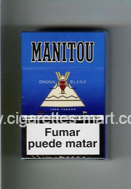 Manitou (design 1) (Original Blend) ( hard box cigarettes )