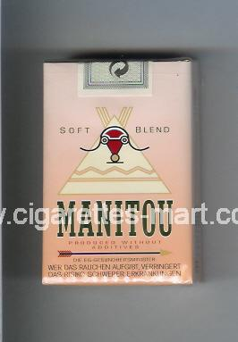 Manitou (design 1) (Soft Blend) ( soft box cigarettes )