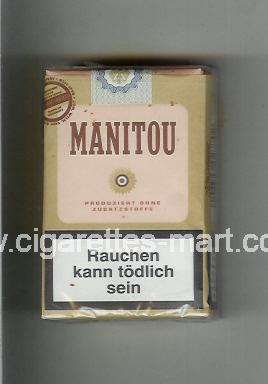 Manitou (design 3) (brown & pink) ( soft box cigarettes )