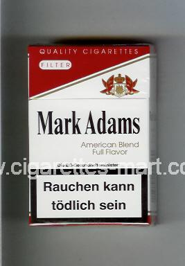 Mark Adams (Filter / American Blend Full Flavor) ( hard box cigarettes )