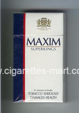 Maxim (german version) (design 2) ( hard box cigarettes )