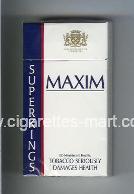 Maxim (german version) (design 2A) ( hard box cigarettes )