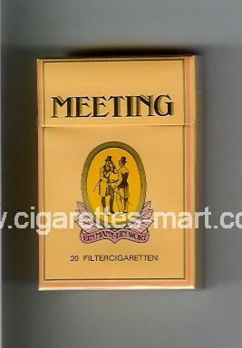 Meeting ( hard box cigarettes )