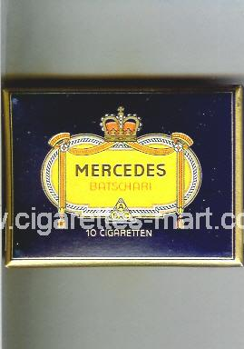 Mercedes (german version) (design 1) (Batschari) ( box cigarettes )