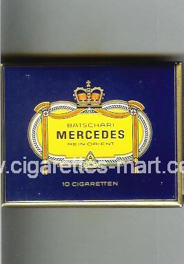 Mercedes (german version) (design 1) (Batschari / Rein Orient) ( box cigarettes )
