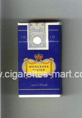 Mercedes (german version) (design 1) (Filter) ( hard box cigarettes )