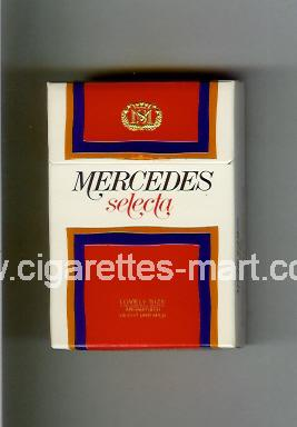 Mercedes (german version) (design 2) (Selecta) ( hard box cigarettes )