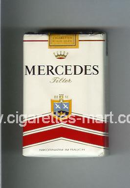 Mercedes (german version) (design 3) (Filter) ( soft box cigarettes )