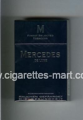 Mercedes (german version) (design 4) (De Luxe) ( hard box cigarettes )
