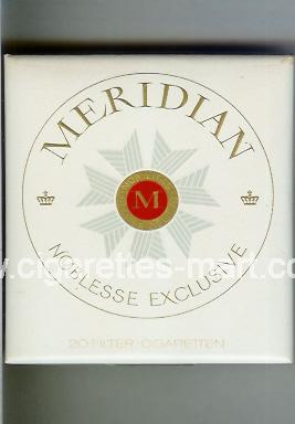 Meridian (german version) (Noblesse Exclusive) ( box cigarettes )