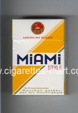 Miami (german version) (design 1) (Style / American Blend) ( hard box cigarettes )
